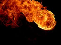 Balls of fire raining down on my vagina