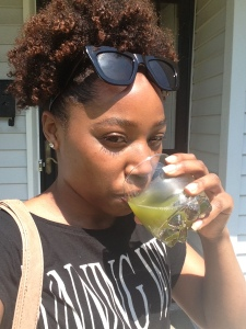 Clear Skin and Green Juice